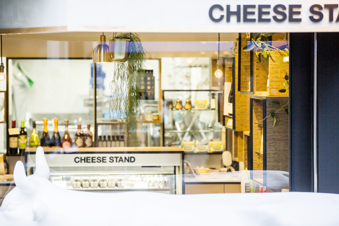 & CHEESE STAND